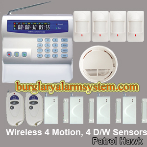 hard wired gsm alarm