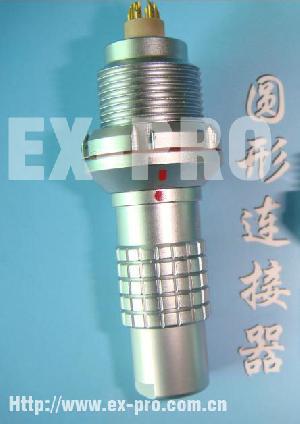 lemo fgg multi pin connector metallic plug socket 5pin 6pin 7pin metal push pull