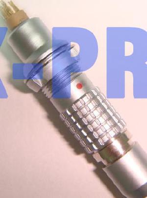 lemo b metal push pull connector