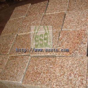 cube stone granite cubes g682
