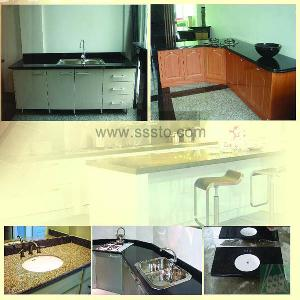 granite countertop table vanity