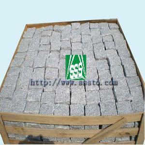 granite cube stone cubes paving