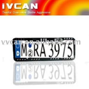 eu russia plate frame carmera ca 312cmos ccd 170degrees