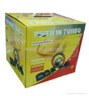 ps2 pc twin turbo race wheel