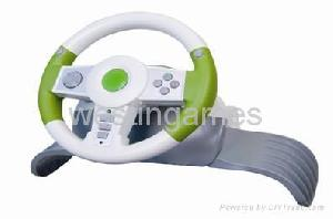 ps3 ps2 usb xbox360 4in1 wireless racing wheel