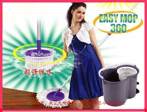 360 swivel mop mega cleaner dry dual degree rotation head dehydration