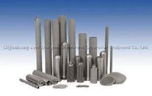sinter metal filter