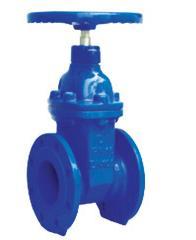 cast iron din 3352 f4 resilient seat gate valve