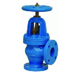cast iron jis angle globe valve