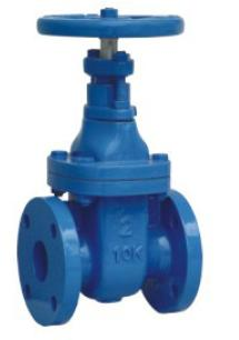 jis 10k cast iron gate valve non rising stem