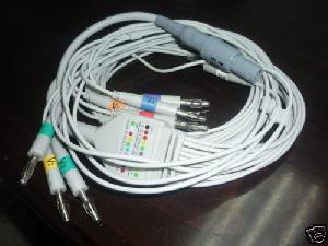 welch allyn cpr un ub d pro ecg cable 10 leads round 14p connector