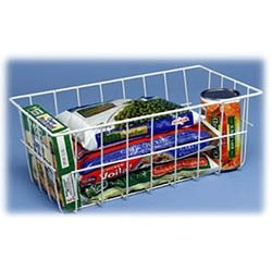 kitchen cabinet organizers storage basket wire freezer baskets