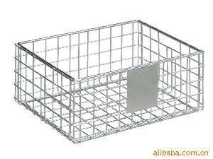 storage basket wire freezer baskets kitchen cabinet organizers