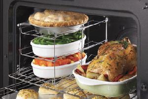 tier oven wire rack liner roasting baking