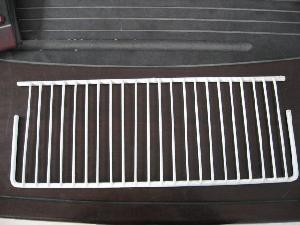 vinyl coated steel wire refrigerator shelf freezer rack storage container