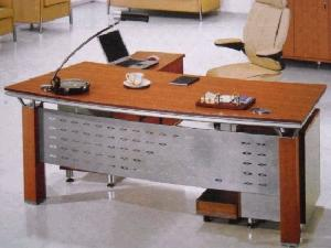 office table computer desk executive wood malemine furniture