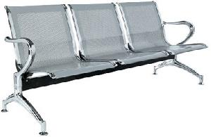 public airport waiting chair metal seat institutional commercial furniture