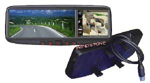 car rearview mirror gps navigator system