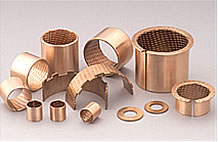 bronze bushes oilite bearing plain shaft bearings dry bushings