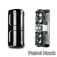 patrol hawk security beam detector wireless wired
