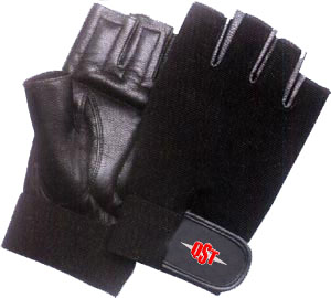 men leather lifting gloves