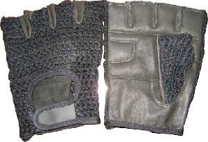 mesh fitness gloves