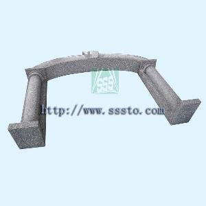 granite arch door