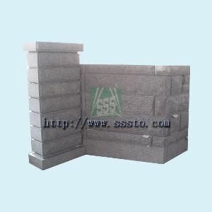 granite wall block stones sssto