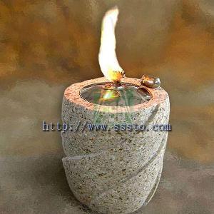 oil lamp granite marble lamps