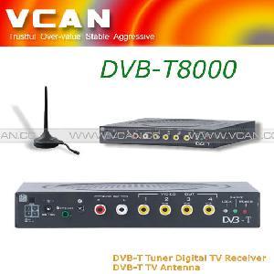 car mobile digital dvb t tv receiver tuner box