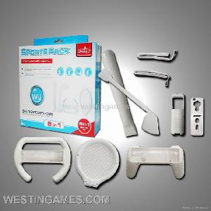 nintendo wii accessory 8in1 kit sport pack