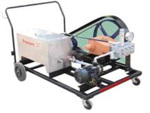 hydro test pumps