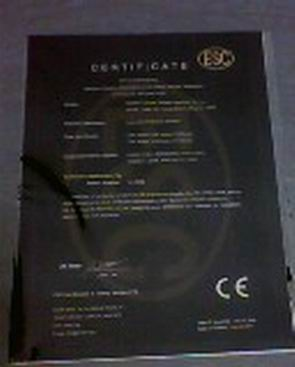 packing machine ce certificate