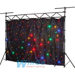 led star cloth curtain light moving head dj lights disco lighting stage