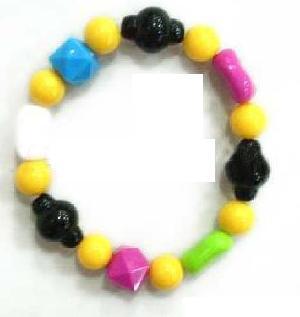 colored bead bracelet