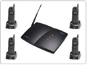 engenius senao sp 922 wireless mini pbx system 4 line up 36 handsets 500m 10km