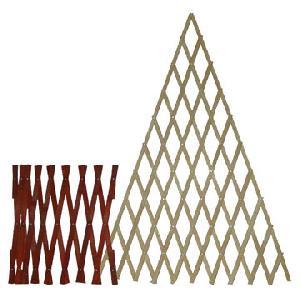 Expanding Bamboo Obelisk Fence