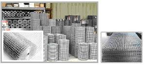 galvanized steel welded wire mesh roll panel