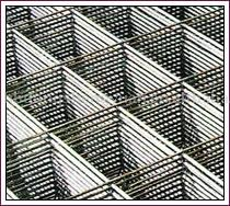 300mm x 100mm rectangular rib concrete reinforcement welded wire mesh
