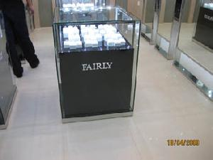 counter display showcases led light