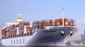 container shipping ocean freight begin decrease ex dec 2009