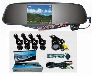 parking sensor car rearview mirror driving recorder video dvr rd728
