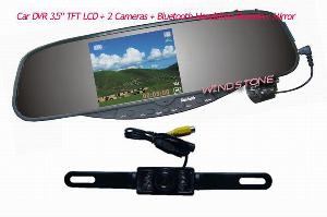 rear view mirror recorder car bluetooth rearview video