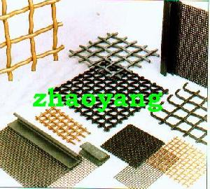 crimped square wire mesh window insect screen