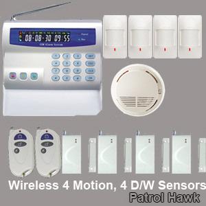 intelligent alarm system wireless wired
