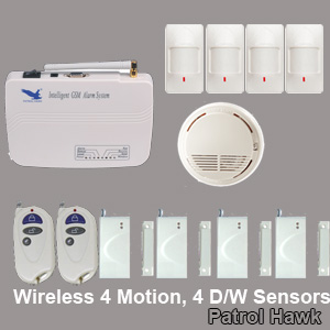 intelligent home alarm systems wireless