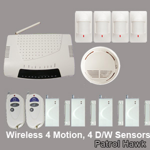 sms alarm system wireless gsm security