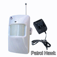 wireless wireld pir motion sensor