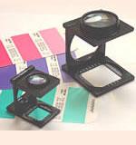 linen tester 10x magnifier