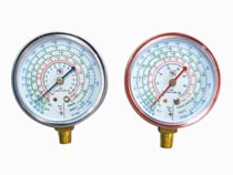 refrigeraiton gauge compound pressure gague manometer